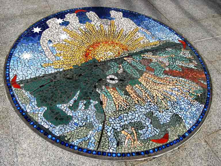 custom mosaic tile art